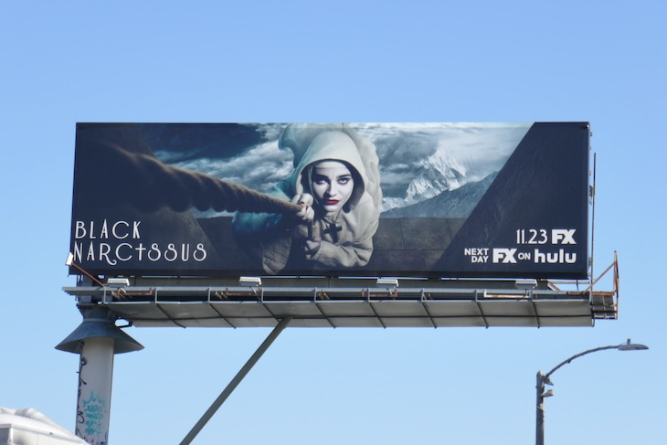 Black Narcissus series billboard
