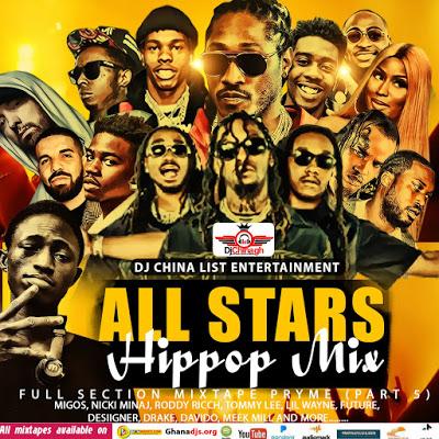 Dj Mix: All Stars Hip Hop Mix (Dj China Ghana)