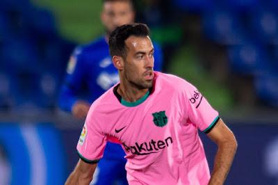 Busquets suspended for Barcelona's La Liga clash against Athletic