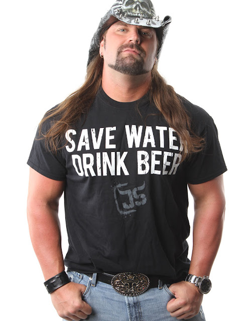 James Storm 'SAVE WATER DRINK BEER' T-Shirt. PYGear.com