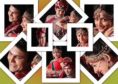 Latest Indian Magic PSD Wedding Album Design 2021 Free Download