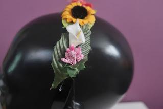 Kwiatowa opaska DIY