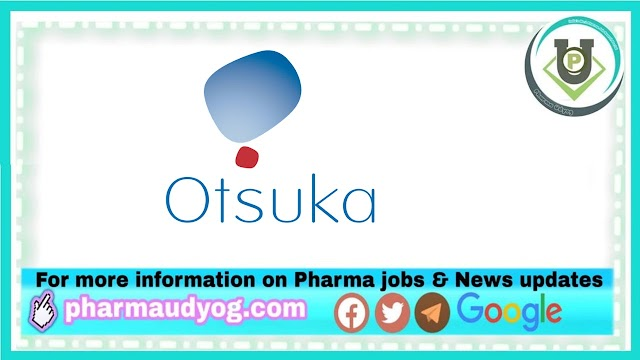 Otsuka Pharmaceuticals | Walk-in interview for QC/QA on 16th Jan 2021