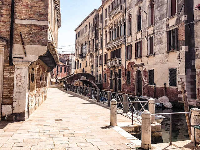 24 hours in Venice- quiet streets