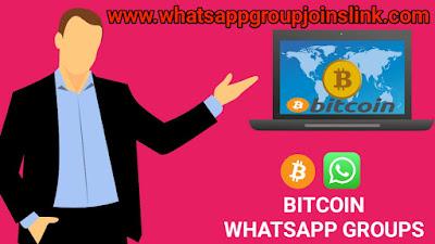 Bitcoin WhatsApp Group Joins Link: