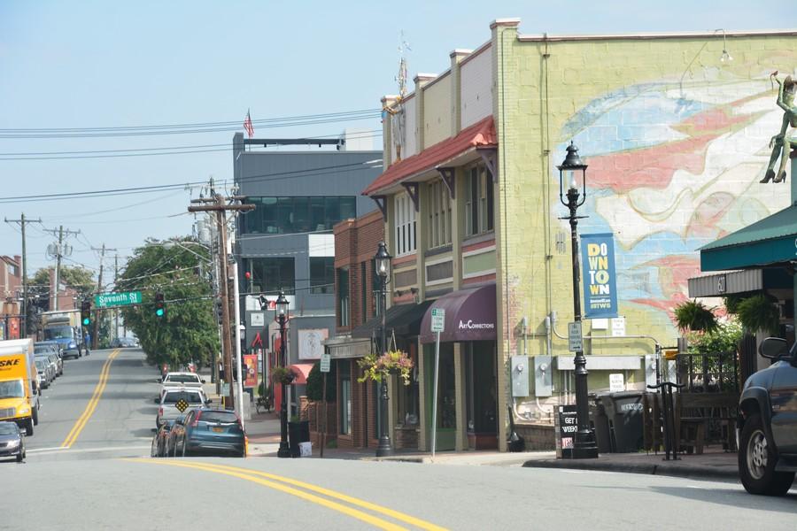 Dans les rues de Winston-Salem
