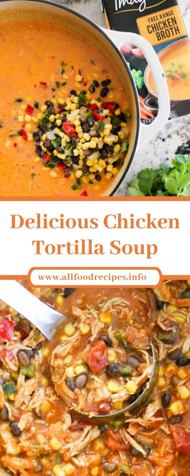 Delicious Chicken Tortilla Soup