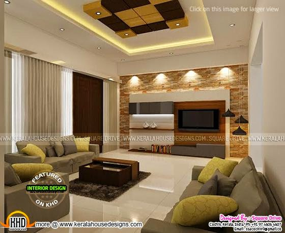 Cochin interior design - Kerala home design and floor plans