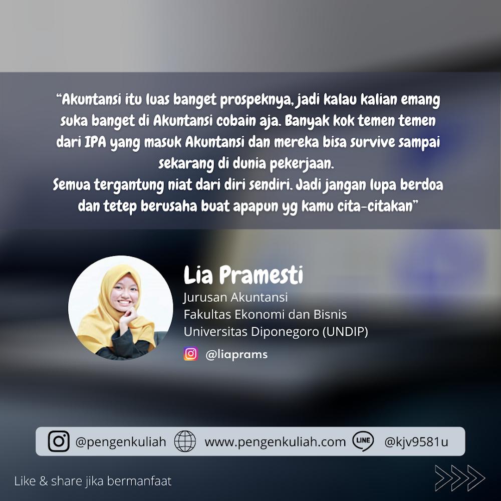 Lia Pramesti - Jurusan Akuntansi - FEB UNDIP