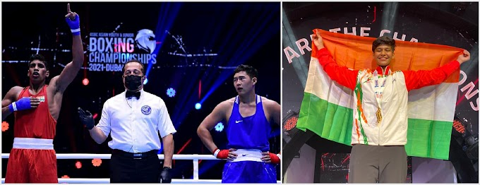Chandigarh University students wins 2 Gold medal at Asian Youth Boxing Championship
