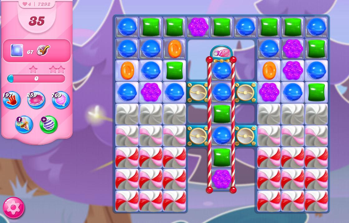 Candy Crush Saga level 7292