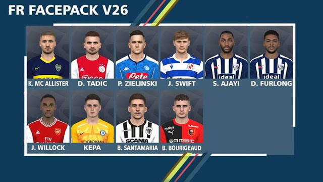 PES 2017 New Facepack Vol. 26 By FR Facemaker