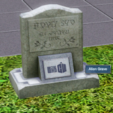 Alien Grave Stone- Preview Image