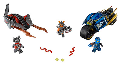 geschenketipp für ostern: LEGO Ninjago Wüstenflitzer