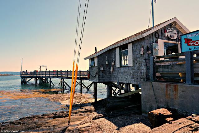 Morse's Cribstone Grill en Bailey Island, Harpswell
