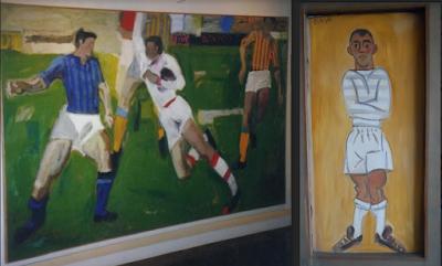 Όταν η ζωγραφική συναντά το ποδόσφαιρο