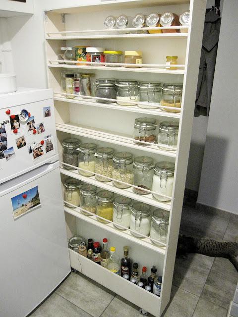 szafka za lodówkę | spiżarka | spiżarka za lodówkę