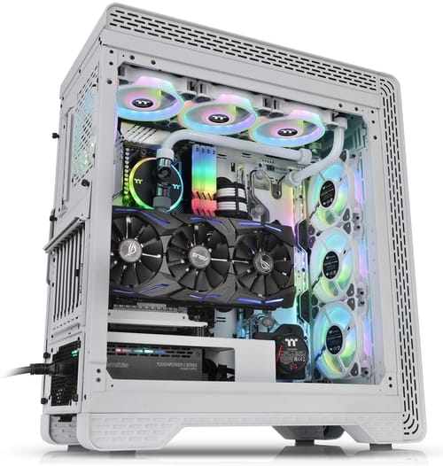 Review Thermaltake S500 Tempered Glass Computer Case