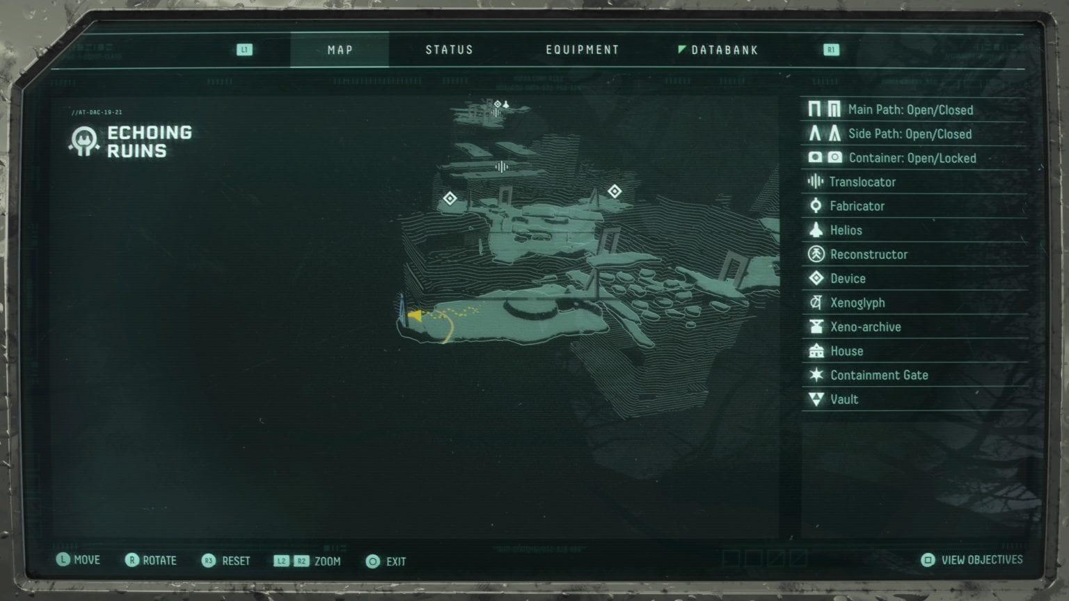 Location 4: Echo ruins