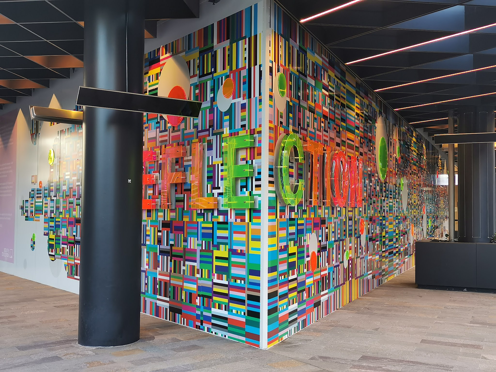 Eveleigh Public Art   'Chaorder' by Beth Radford