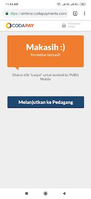 Codapay UC Pubg Mobile Gratis