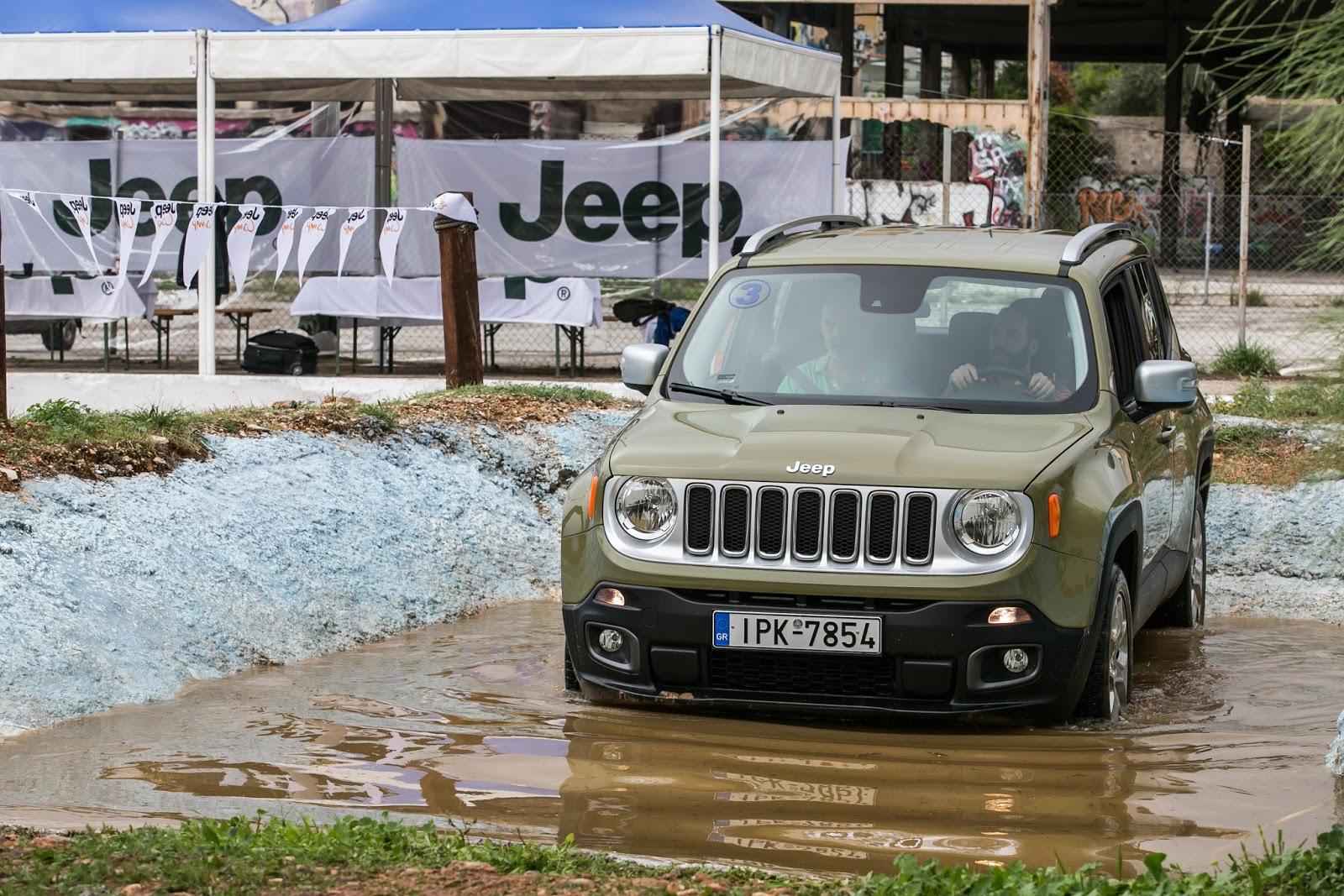 KF 1614 Πετάμε ένα Jeep Renegade σε λάσπες, πέτρες, άμμο, λίμνες. Θα τα καταφέρει; Jeep, Jeep Renegade, Renegade, SUV, TEST, zblog, ΔΟΚΙΜΕΣ