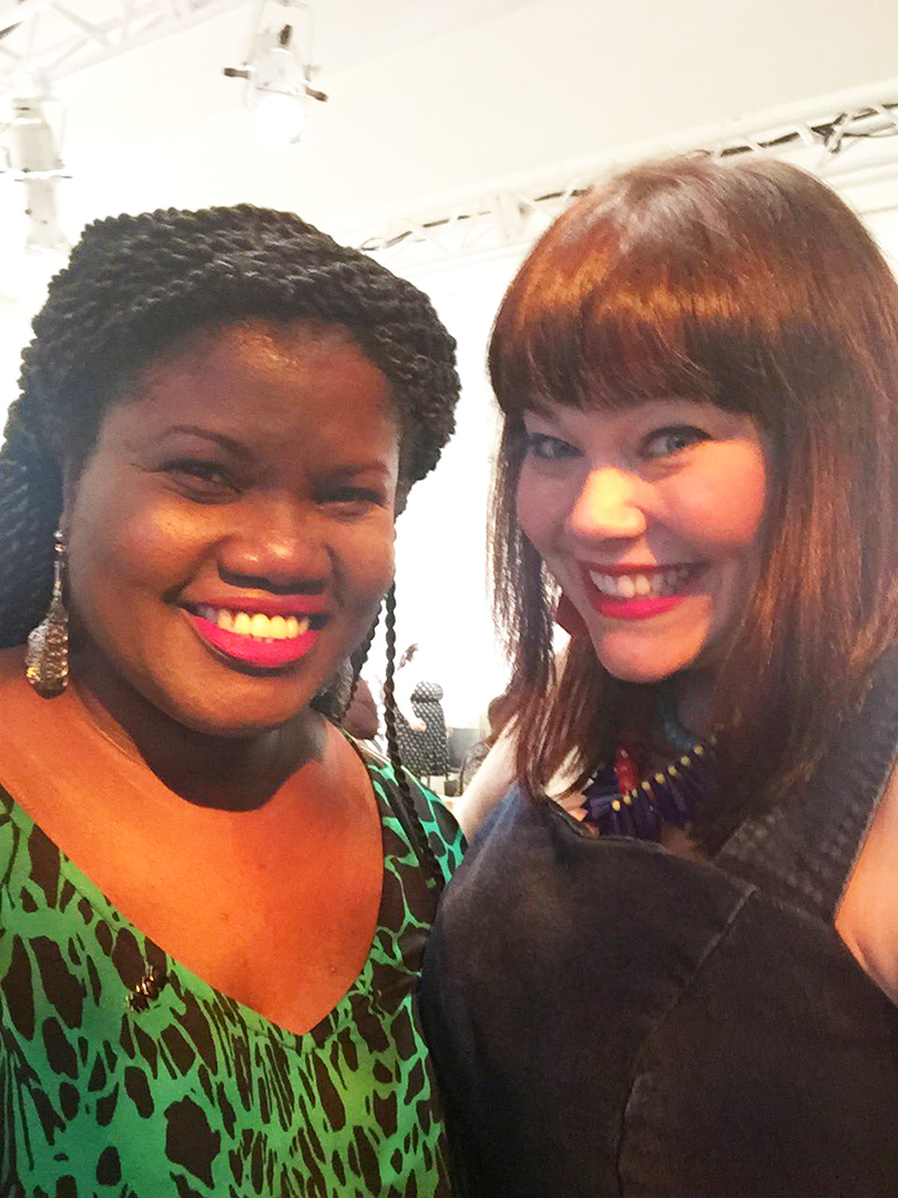 Amber from Style Plus Curves and Georgette from Grown and Curvy Woman
