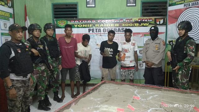 Penangkapan Ganja Kering Sejumlah 0,8 Kg di Perbatasan RI-PNG