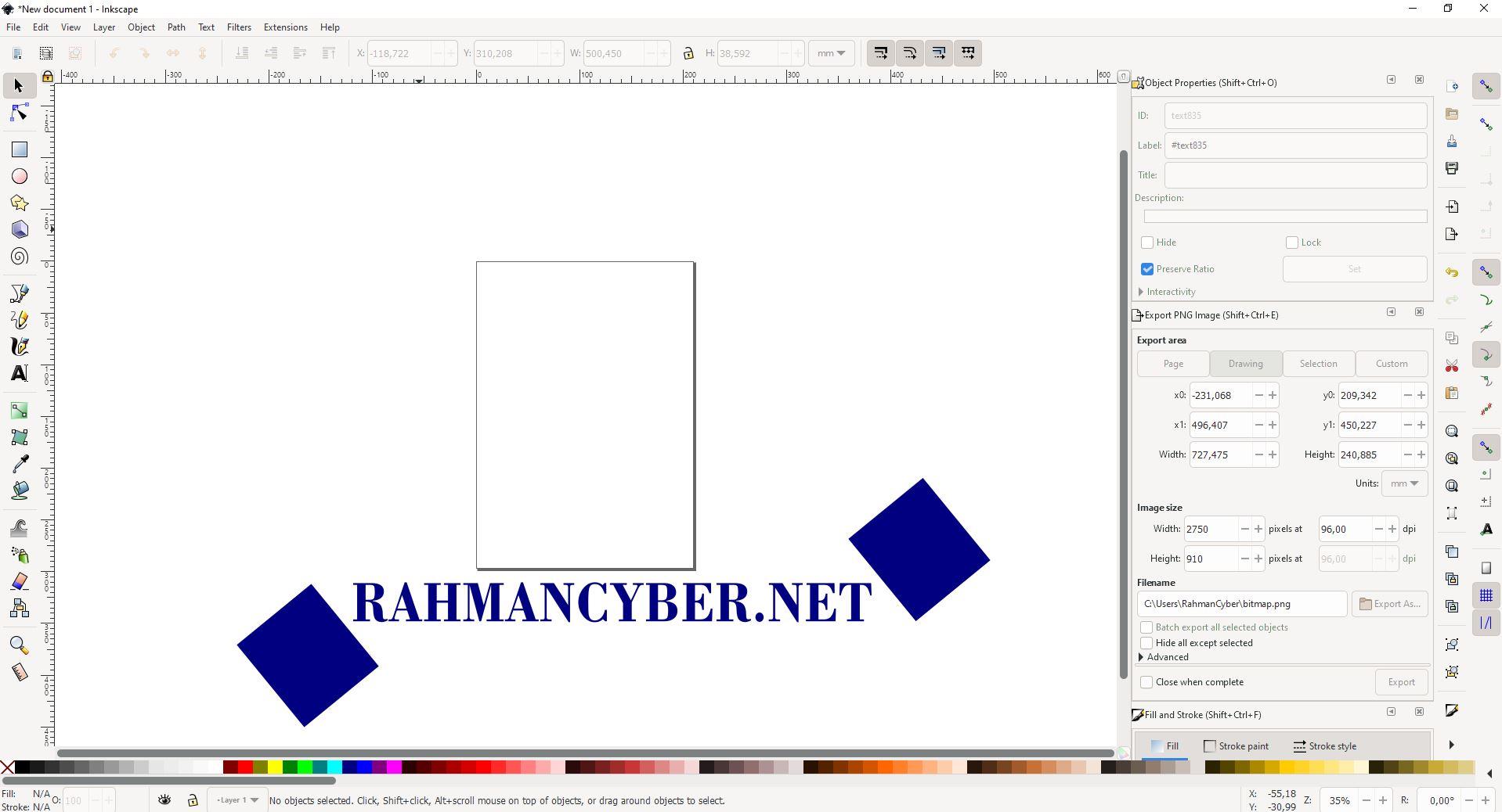 inkscape 1.0.2 tanpa welcome screen