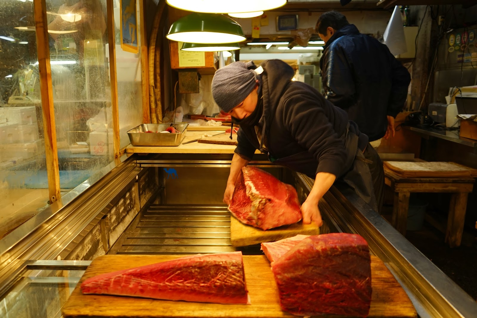 Le Chameau Bleu - Vendeur de Thon - Tsukiji