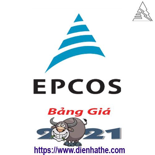 Bảng Giá Tụ Bù và Bộ Điều Khiền Epcos 2021