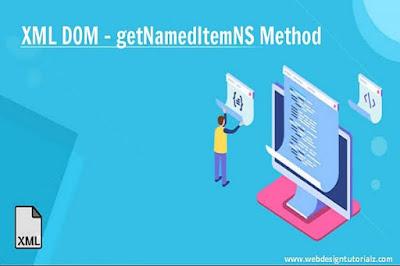 XML DOM - getNamedItemNS Method