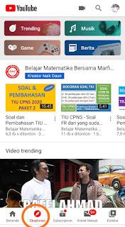 Tab Explore YouTube Akhirnya Ada di Android, iOS, Untum Menggantikan Tab Trending