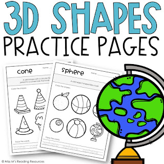https://www.teacherspayteachers.com/Product/3D-Shape-Worksheets-3135385