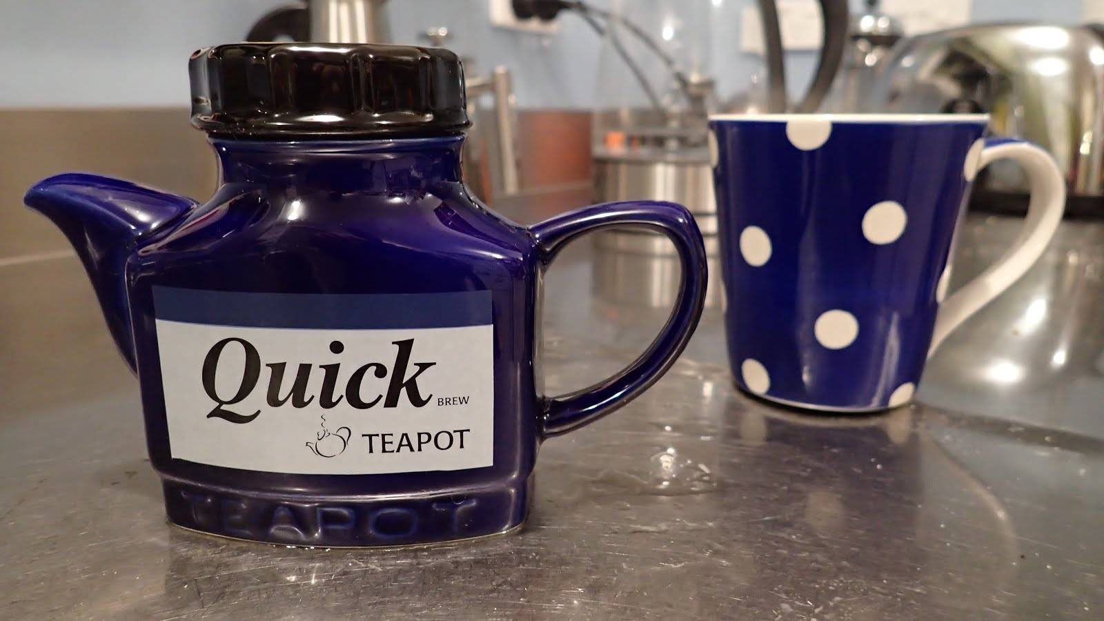 The one cup teapot from the Lake District