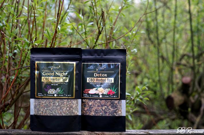 Honey Heaven CBD Herbal Loose Leaf Teas