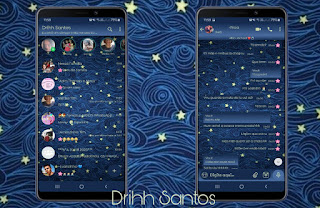 Stars Theme For YOWhatsApp & Fouad WhatsApp By Driih Santos