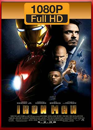 Iron Man 2008 Completa hd 1080p latino