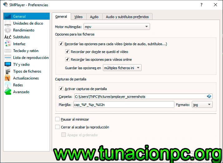Descargar SMPlayer Gratis