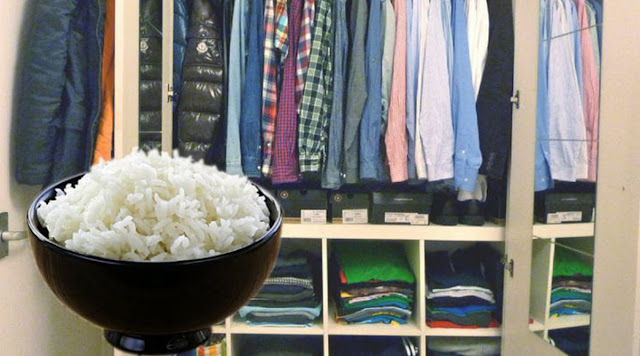 Cup Of Rice In Your Wardrobe
