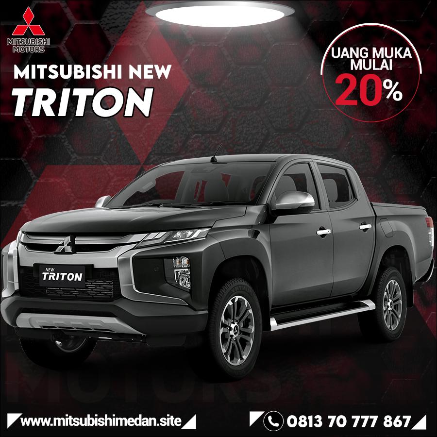 Harga Mitsubishi Triton Medan