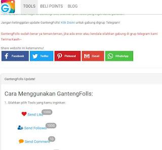 gantengfolls. com