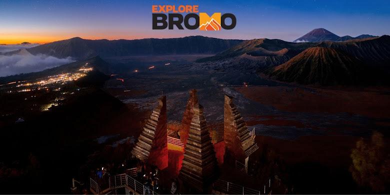 seruni point sunrise gunung bromo