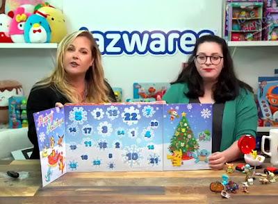 Jazwares Pokemon Holiday Advent Calendar
