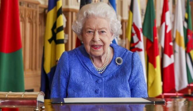 The Duke and Duchess of Cambridge, The Countess of Wessex, The Prince of Wales and The Duchess of Cornwall. The Duke and Duchess of Sussex