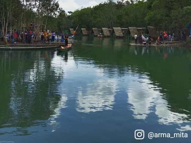wisata baru danau shuji muara enim