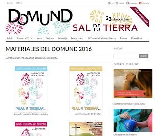 Misiones, misioneros, DOMUND 2016, Propagación de la Fe
