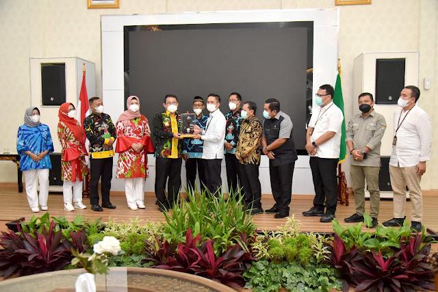 Pemkot Metro Gelar Studi Mengenai MPP ke Pemkot Palembang