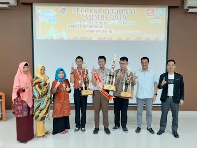 Pemenang Astra Honda Motor Best Student 2019 Regional Kepri
