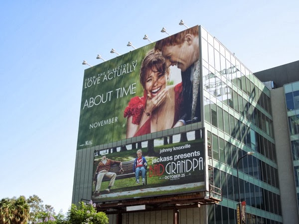 About Time movie billboard